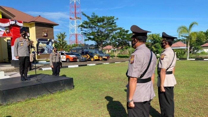Kapolres Singkawang Pimpin Serah Terima Jabatan Kabag Sumda