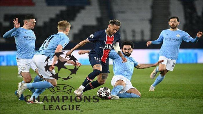 NEYMAR Bawa PSG Lolos Final Liga Champions, Bisakah ? Man City Vs PSG di Link Live Streaming SCTV