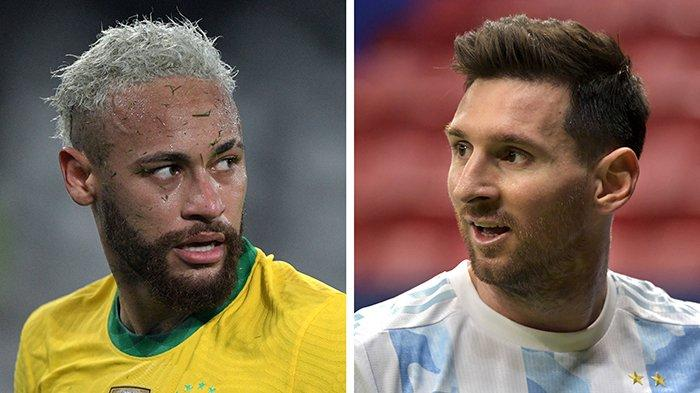 LIVE HASIL Brazil vs Argentina di Final Copa America Pagi Ini Update Skor Argentina vs Brazil