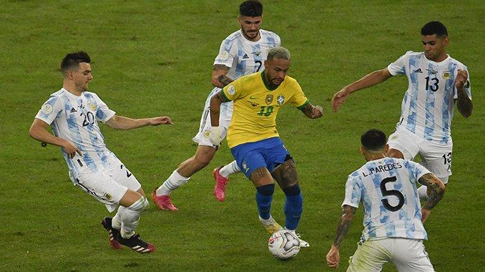 HASIL Akhir Brazil vs Argentina Final Copa America 2021 Sekarang Update Skor Argentina vs Brazil