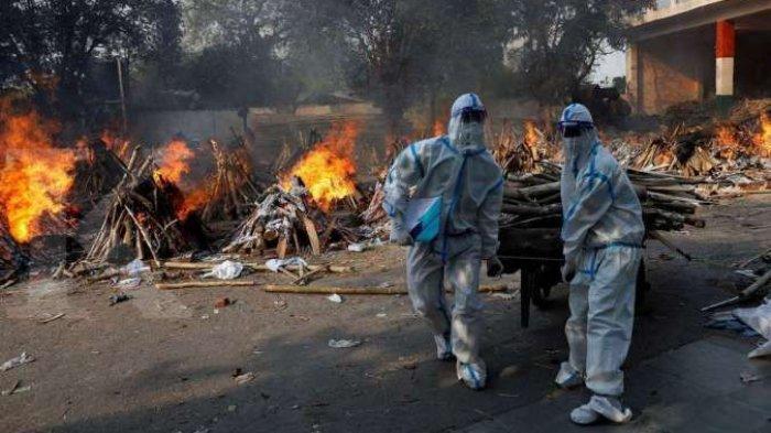 NGERI ! 4 Ribuan Orang Meninggal Dunia Tiap Hari di India, Akibat Covod-19 | Update Covid di India