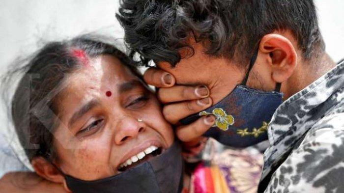 NGERI ! Nyaris Tiap 5 Menit 1 Orang Meninggal di India, Pasien Covid-19 Sekarat di Luar Rumah Sakit