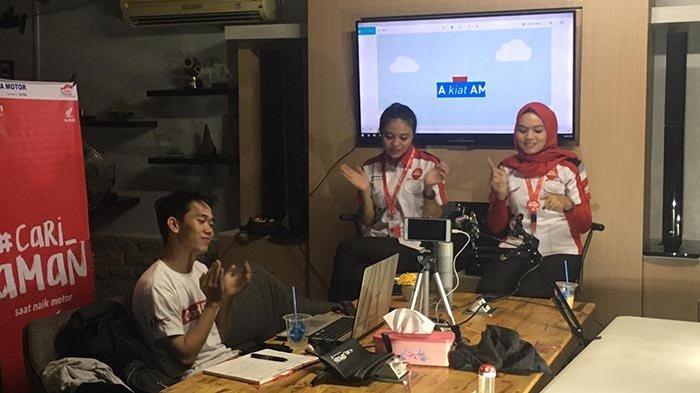 Ngobrol Online Seputar Komunitas, Honda Kalbar Sajikan Tema Cari Aman Saat Pulang Kerja