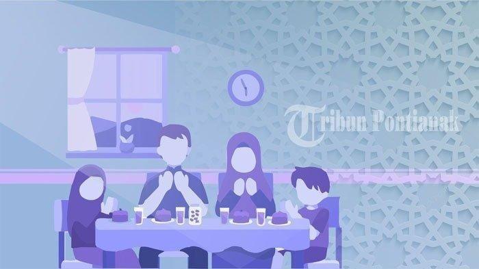 Doa Buka Puasa Rajab Hari Ke 3 Serta Doa Sebelum Dan Sesudah Makan Cek Jadwal Buka Puasa Hari Ini Tribun Pontianak