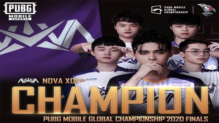 NOVA XQF Juara PMGC 2020 Season 0 - Indonesia Gagal Pertahankan Gelar Juara Dunia PUBG Mobile
