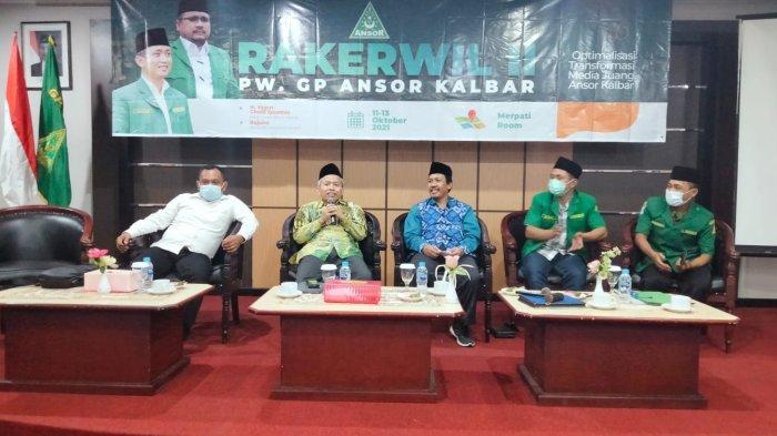 Tutup Rakerwil II Ansor Kalbar, Sekjen Kemenag RI Nizar Ali Apresiasi Soliditas Ansor Banser Kalbar