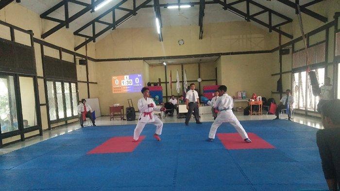 Puluhan Pelajar  Ikuti Seleksi O2SN Cabang Olahraga Karate