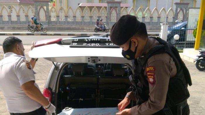 Cegah Gangguan Kamtibmas, Unit Pam Obvit Lakukan Pengamanan di Bank
