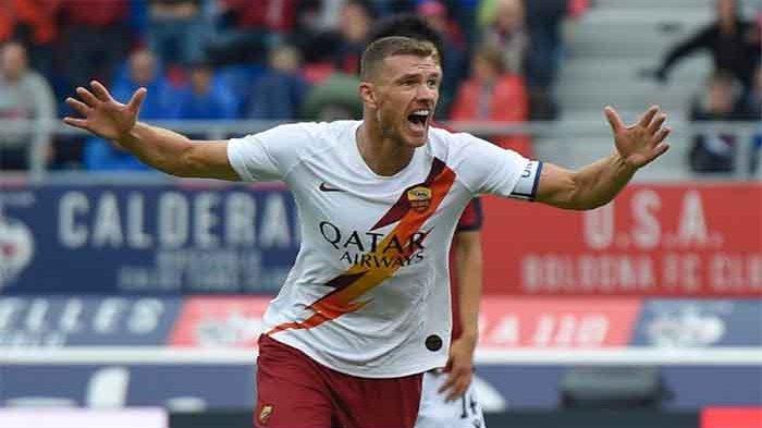 LIVE STREAMING AS Roma vs Borussia Moenchengladbach Liga Europa - Fonseca Percayakan Edin Dzeko