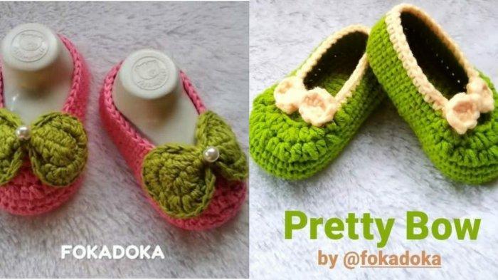 Mengintip Brand Lokal Fokadoka Produk Handmade Sepatu Rajut Bayi