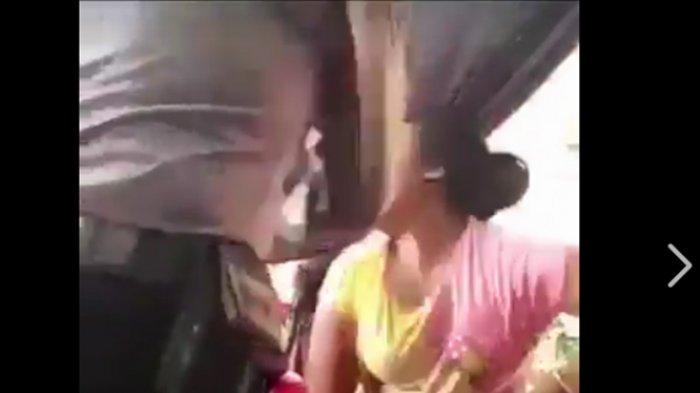 Astagfirullah! Diduga Oknum Polisi Tampar Wanita di Tempat Umum Hingga Pingsan, Videonya Viral