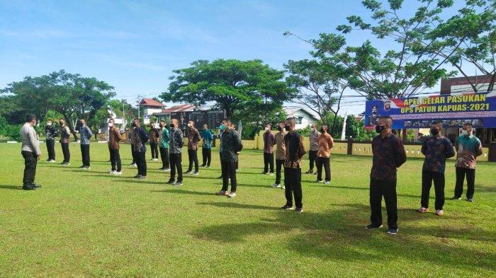 Kasat Binmas Polres Singkawang Beri Motivasi kepada Calon Siswa Bintara Polri Gelombang II