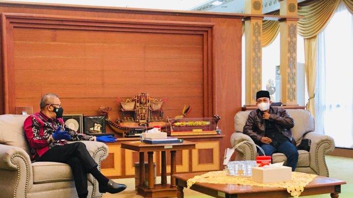 LSKM Kalbar Audiensi ke Gubernur Kalbar Jelang Harlah dan Diksargab