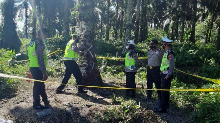 Tim TAA Polda Kalbar Olah TKP Laka Lantas di Desa Semuntai Sanggau