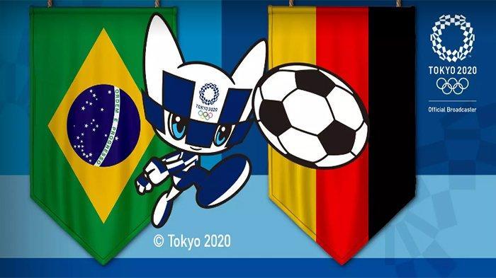 Prediksi Susunan Pemain Brasil vs Jerman Olimpiade Tokyo 2021 Lengkap Link Live Streaming