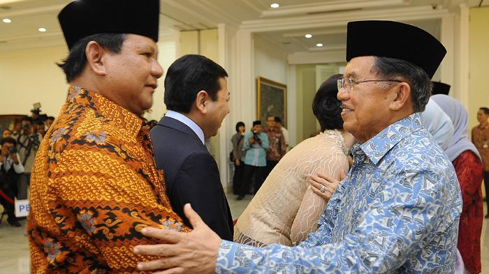 Wapres Jusuf Kalla Dikabarkan Sudah Bertemu dengan Prabowo Subianto