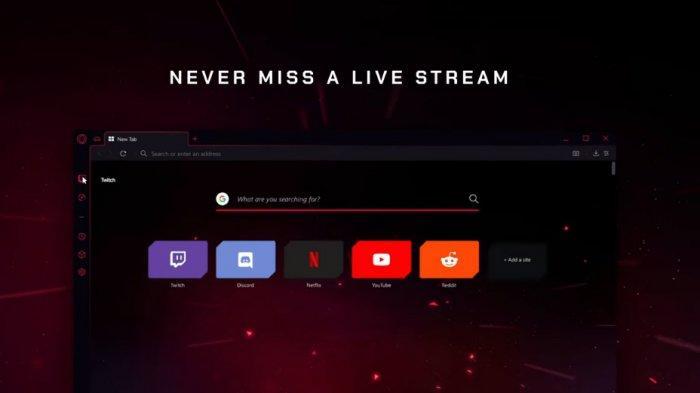 Browser Opera GX Bisa Jadi Alternatif Gamers, Dirilis Opera Software 11 Juni 2019, Cek Keunggulannya