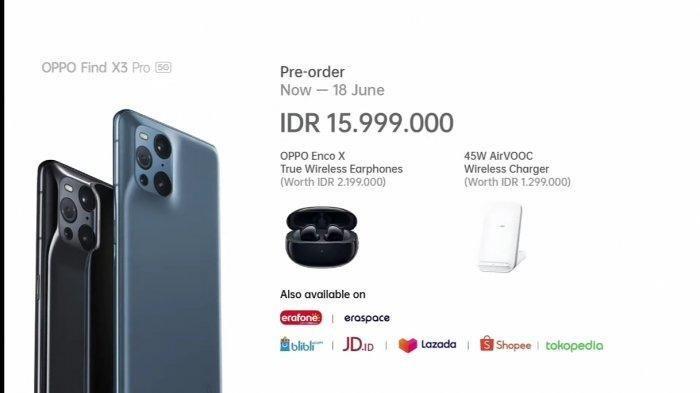 Harga Oppo Find X3 Pro 5G di Indonesia ! Rilis 3 Juni 2021, Cek Spesifikasi Oppo Find X3 Pro 5G