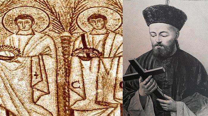 Orang Kudus Katolik 11 September 2021, Santo Protus, Hyasintus dan Beato Yohanes Gabriel Perboyre