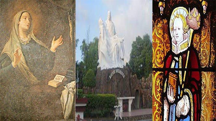 Orang Kudus Katolik 15 September Santa Katarina Fieschi, Maria Mater Dolorosa dan Santo Nikomedes