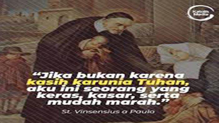 Orang Kudus Katolik Hari Ini 27 September 2021 Santo Vinsensius a Paulo