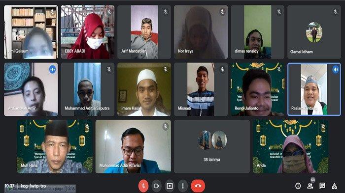 Mempererat Silaturahmi Ormawa Syariah Gelar Halal BiHalal Online