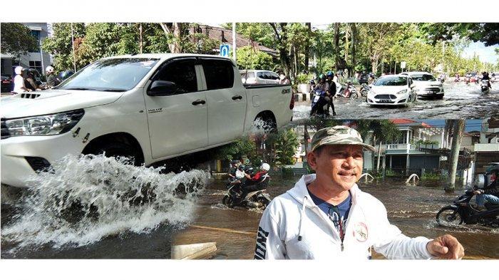 Jalan Raya Purnama Tergenang, Paiman: Ini Banjir Paling Parah