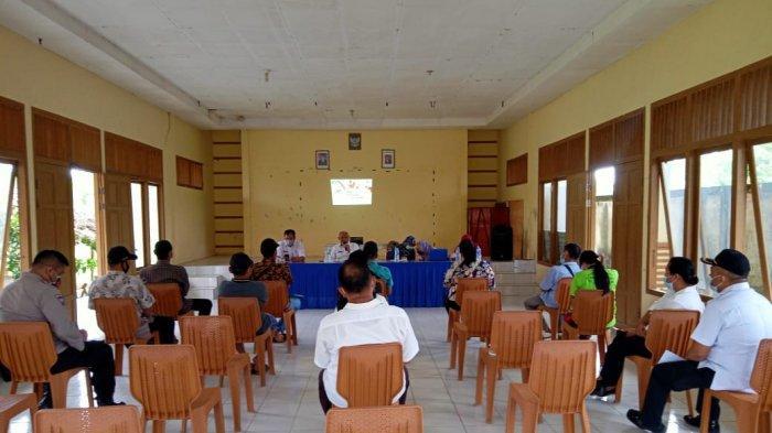 Bhabinkamtibmas Pajintan Singkawang Timur Gelar Pelatihan Penanganan Covid-19