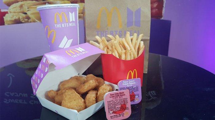 CARA Pesan Paket BTS Meal di McDonalds, Sampai Kapan BTS Meal Dijual?
