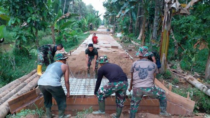 Stefie: TMMD 107 Kodim 1207/BS Dukung Kemajuan Infrastruktur Desa