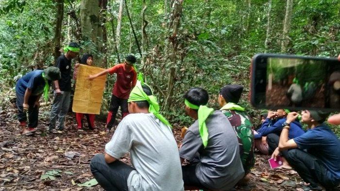 Belajar Langsung di Alam, Relawan Rebonk Berjumpa Kelempiau