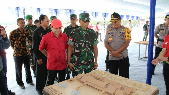 Kodam XII/Tpr Siap Dukung Pembangunan Bandara Singkawang: Kalbar Provinsi Penyangga Ibu Kota Negara