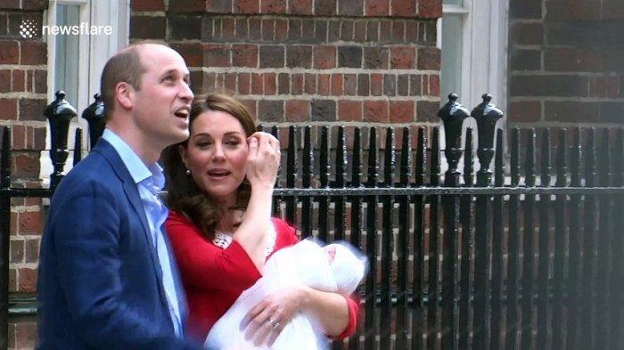 Pangeran Louis Arthur Chales Segera Dibaptis, Anggota Kerajaan Inggris Termuda