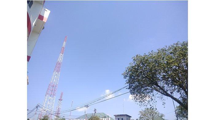 Cuaca Terkini di Kota Pontianak, Terpantau Cerah