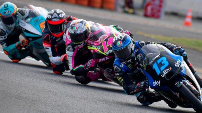 HASIL Moto3 Jerez 2021 - Pedro Acosta Juara, Pembalap Indonesian Racing Gresini Moto3 Runner up
