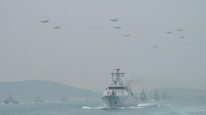 China Klaim Laut Natuna, TNI Siaga Tempur! 3 Kapal Perang Republik Indonesia, Pesawat Intai & Boeing