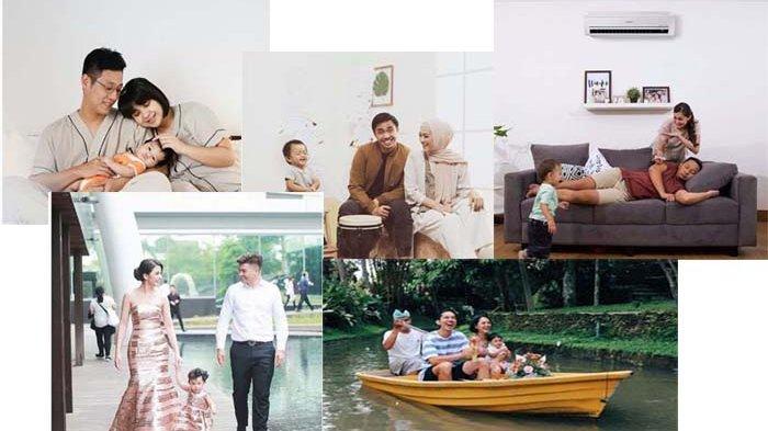 Potret Keluarga Harmonis, 5 Pasangan Artis Muda Ini Bikin Baper, Nomer 4 Idaman Banget