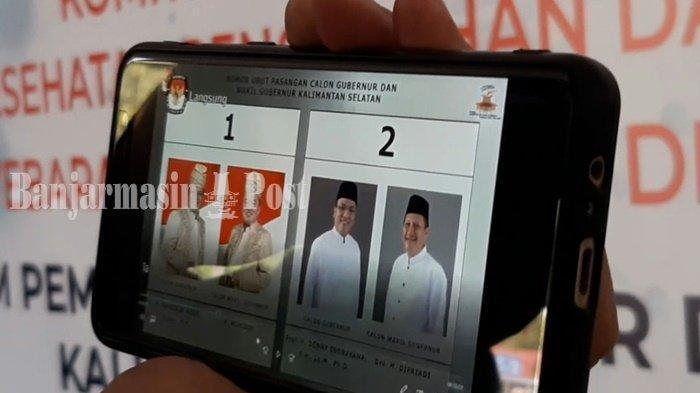 Hasil Terbaru Pilkada Kalsel 2020: Denny Indrayana Ungguli Sahbirin di 3 Wilayah, Kalah di Balangan