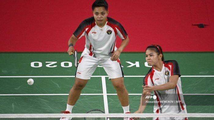Hasil Piala Uber: Greysia Polii/Apriani Rahayu Bawa Indonesia Unggul 2-0 Atas Jerman