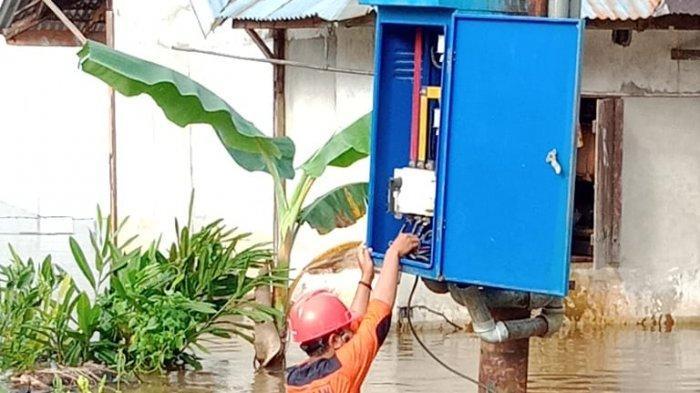 Pasca Banjir Kini 7.477 Pelanggan yang Terdampak Sudah Bisa Menikmati Listrik