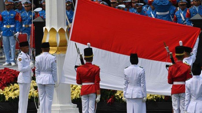 Live Streaming KompasTV Upacara Peringatan Detik-detik Proklamasi di Istana Merdeka Jakarta