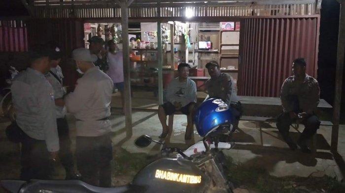 Polsek dan Koramil Belitang Hulu Sinergi Lakukan Patroli Malam