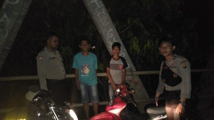 Polsek Menyuke Giatkan Patroli Dialogis Malam Hari Guna Cegah Gangguan Kamtibmas