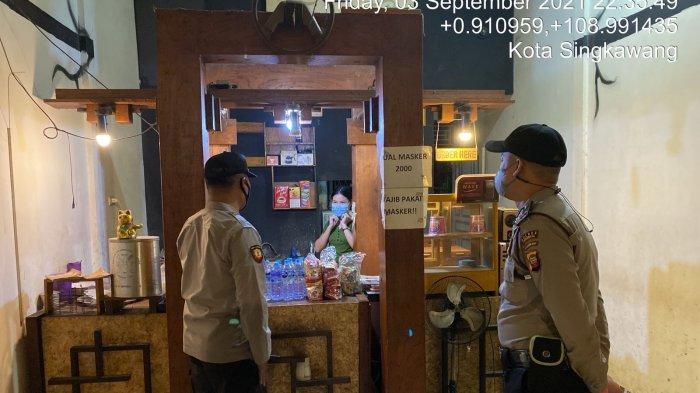 Wakapolsek Singkawang Tengah Iptu Jawawi Pimpin Patroli untuk Cegah Gangguan Kamtibmas