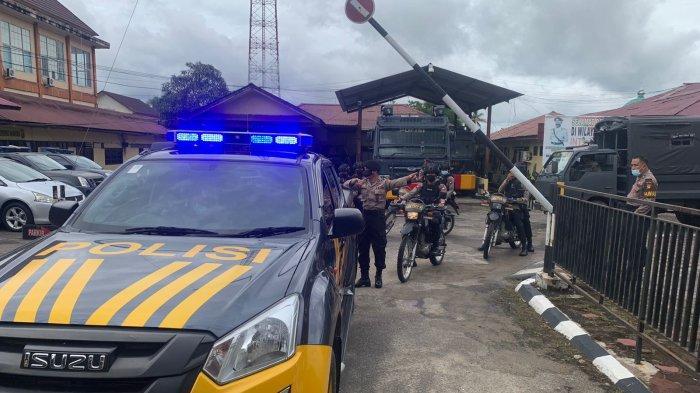 Polres Sintang Gelar Patroli Skala Besar untuk Antisipasi Ganguan Kamtibmas