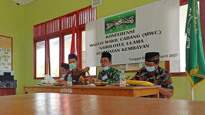 Konferensi MWCNU Kembayan, Tugas NU Menjaga dan Merawat NKRI dari Oknum