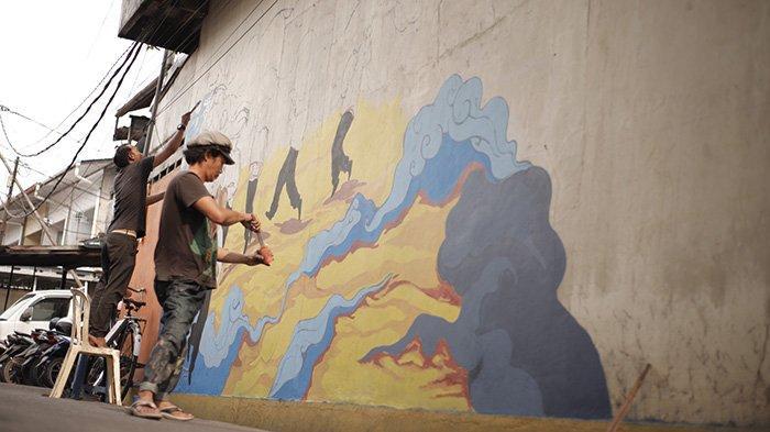 TERBARU di Pontianak Destinasi Mural Kampung Cina Hadir di Kawasan Gajahmada 9