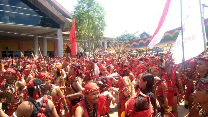 PGD Sintang ke-VIII Bakal Dimeriahkan 17 Jenis Lomba Tradisional Masyarakat Dayak
