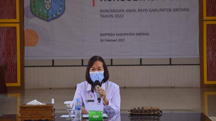 Plh Bupati Sintang Minta OPD Fokus dan Terarah Susun RKPD 2022