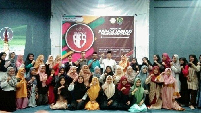 Fakultas Syariah IAIN Pontianak Launching 'The King Of Hels' Komunitas Bahasa Inggris